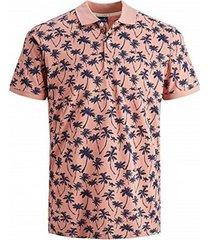 overhemd korte mouw jack jones polo jack jones jorpedro 12171702