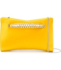 jimmy choo venus clutch bag - yellow