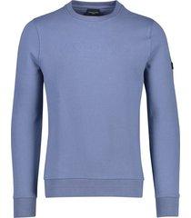 heren sweater blauw cavallaro maricio