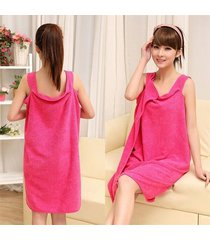 microfiber women cotton girl bath towel wearable soft beach wrap skirt absorbent