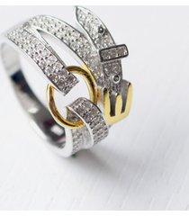 anillo fidda sahira - plata