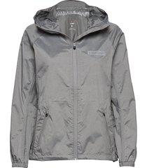 women's waterproof jacket outerwear sport jackets grijs newline