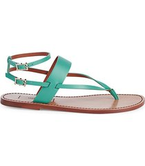ankle-strap thong sandals