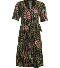 poools 923116 dress flower black