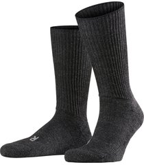 men's falke walkie ergo crew socks, size x-small - grey