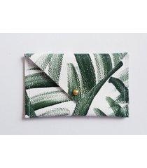 r-ki-tekt palm leather wallet