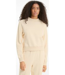 infuse sweater met ronde hals dames, maat xs | puma