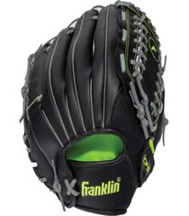 "franklin sports field master midnight series 12.0"" baseball glove - left handed thrower"