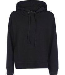 maison margiela printed detail hoodie