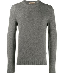 nuur fine knit sweatshirt - grey