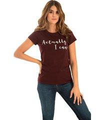 camiseta actually violeta ragged pf51120374