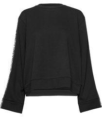 dalara sweat-shirt tröja svart hugo