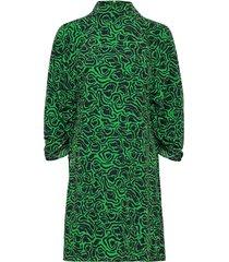 rodebjer elure jurk knielengte groen rodebjer