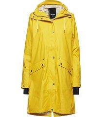 erna 2.0 raincoat regenkleding geel tretorn