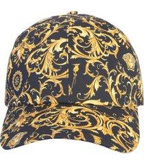 baroque print hat