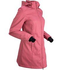 giacca funzionale in softshell con pellicciotto (fucsia) - bpc bonprix collection