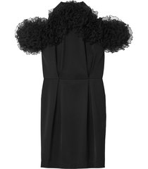 raven dress in black