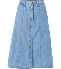 denimkjol vimayas clash hw midi skirt