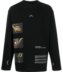 a-cold-wall* glass blower long-sleeved t-shirt - black