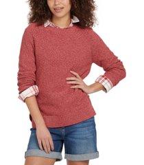 barbour shoreline cotton sweater