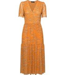 slaldora dress knälång klänning gul soaked in luxury