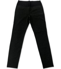 style & co heathered pull-on pants, created for macy's