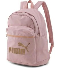 mochila rosa puma core base college