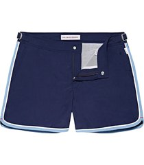 orlebar brown setter short length swim shorts | navy/sea breeze | 271743-nse