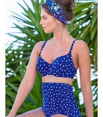 mini maxi sweetheart lightly padded underwire bikini top