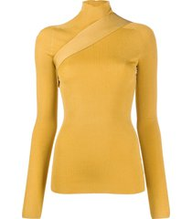 peter do sash detail jumper - neutrals