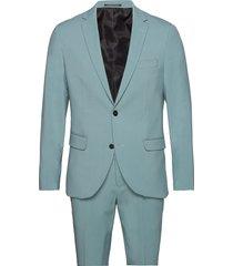 mens suit pak blauw lindbergh