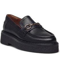 shoes a1236 loafers låga skor svart billi bi