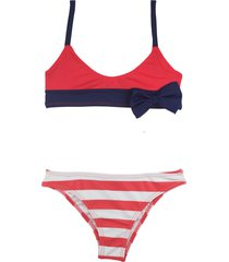 bikini coral mare moda nena moña