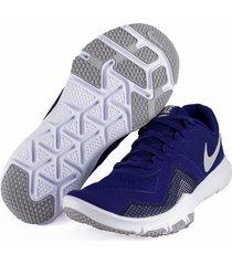 tenis azul nike flex control ii training