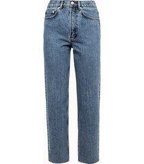 a.p.c. jeans jean alan in denim azzurro