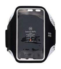 sweaty betty braçadeira para iphone 8 com velcro - preto