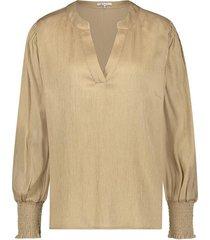 nukus | rita blouse gold