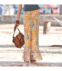 desert paisley skirt - petites