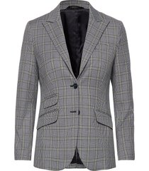delores checked blazer blazers business blazers blå morris lady