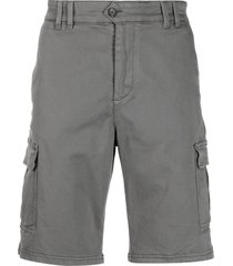 ecoalf organic cotton-blend bermuda shorts - grey