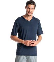 pijama masculino curto listrado guilherme
