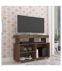 rack para tv até 42 pol permóbili móveis slim café