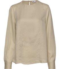 fen blouse blouse lange mouwen beige filippa k