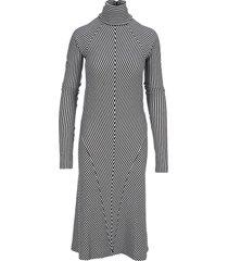 haider ackermann striped mini dress