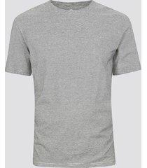 randig t-shirt i bomull - grå