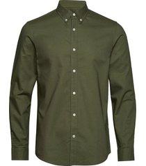 oxford sawsett overhemd casual groen mads nørgaard