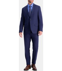 haggar men's active series herringbone slim-fit suit separate jacket