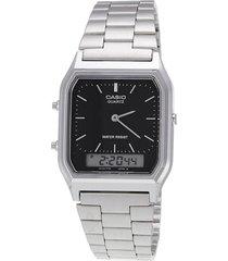 reloj plateado vintage casio