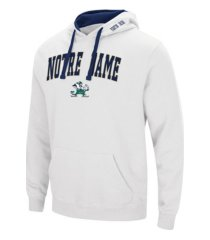 colosseum notre dame fighting irish men's arch logo hoodie