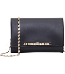 red valentino clutch with chain strap